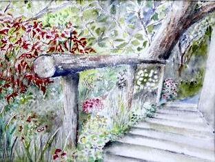 """Marches au jardin"" de J.Corbin"