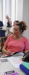 Delphine Villetorte. secrétaire adjointe ABJ 2014